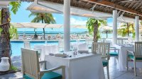 restaurant Merville Beach hotel grand baie
