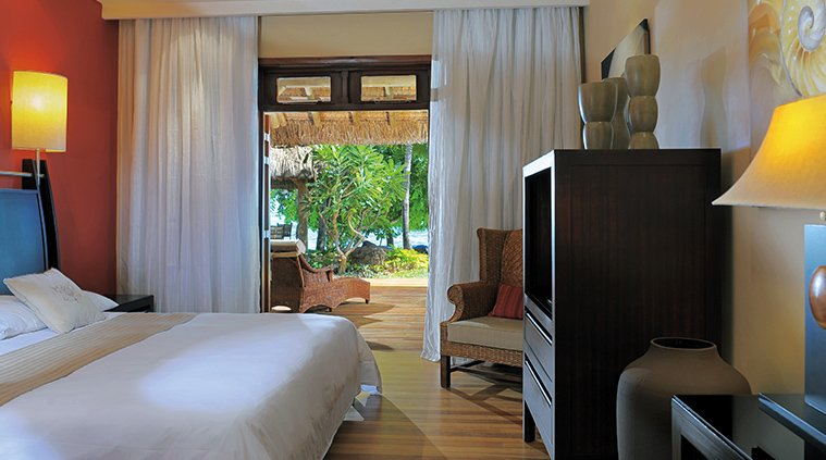 interieur chambre Villas Paradis and Golf Club le morne