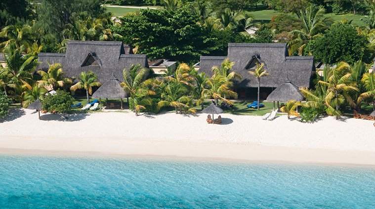 plage Villas Paradis and Golf Club le morne