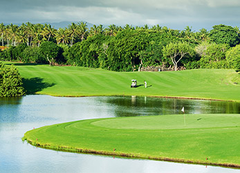 the links course ile maurice