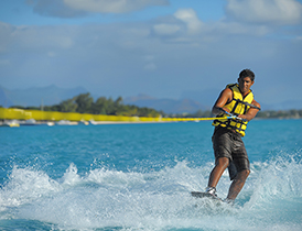 wakeboard hotel canonnier ile maurice