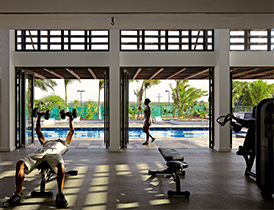 hotel-ile-maurice-long-beach-gym