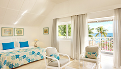 Chambre Bungalow Deluxe Merville Beach hotel grand baie