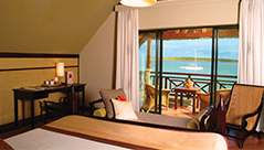 chambre deluxe hotel preskil beach resort ile maurice